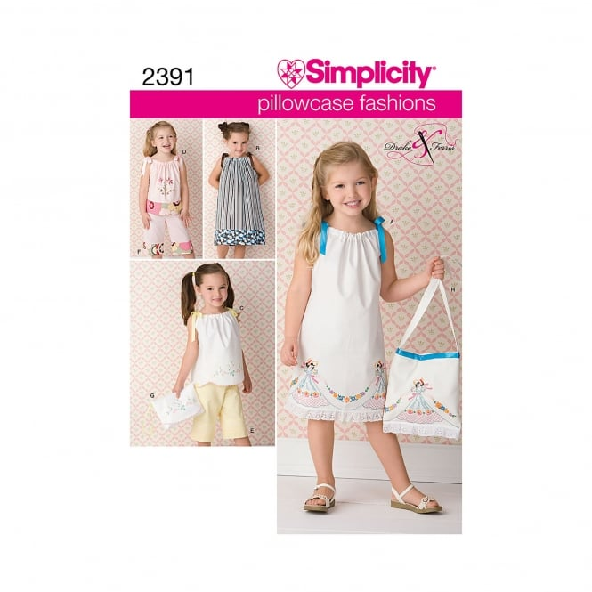 Simplicity Sewing Pattern 2391 Size 3 - 8 Years