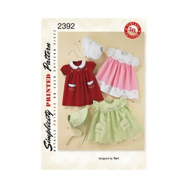 Simplicity Sewing Pattern 2392 Size XS - L