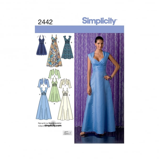 Simplicity Sewing Pattern 2442 H5 Size 6 - 14