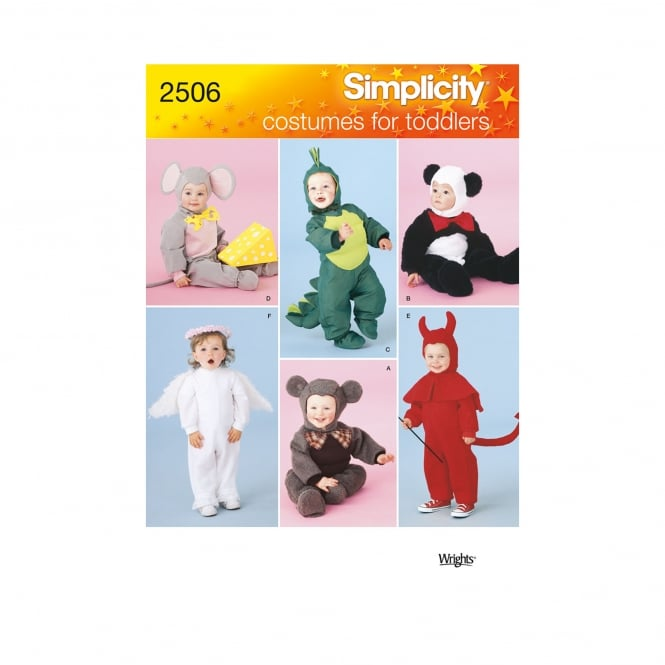 Simplicity Sewing Pattern 2506 A Size 6 Months - 4 Years