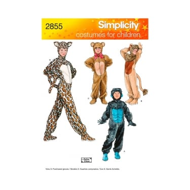 Simplicity Sewing Pattern 2855 Size 3 - 16 Years