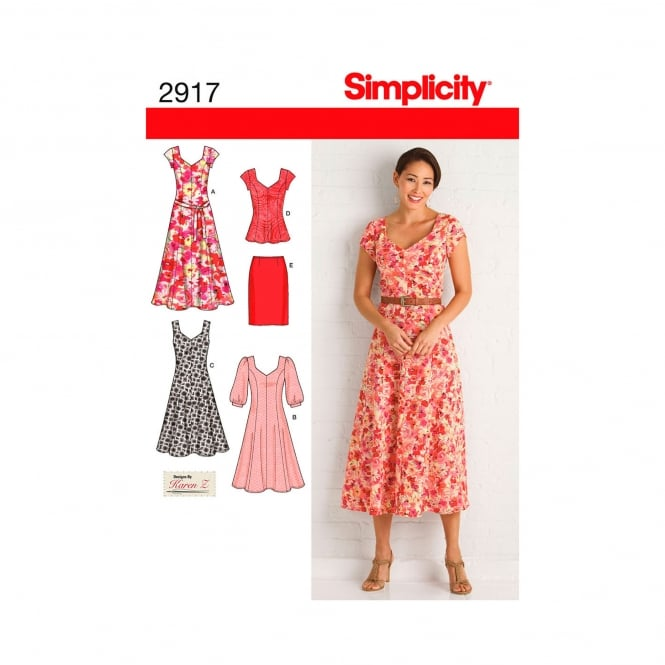 Simplicity Sewing Pattern 2917 AA Size 10 - 18