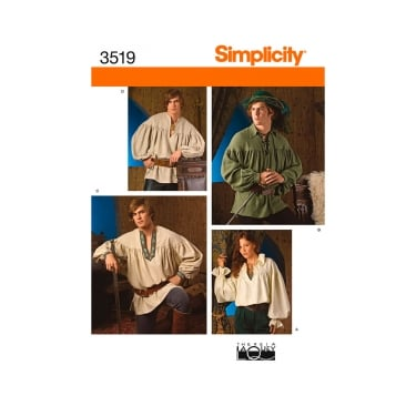 Simplicity Sewing Pattern 3519 Size XS - XL