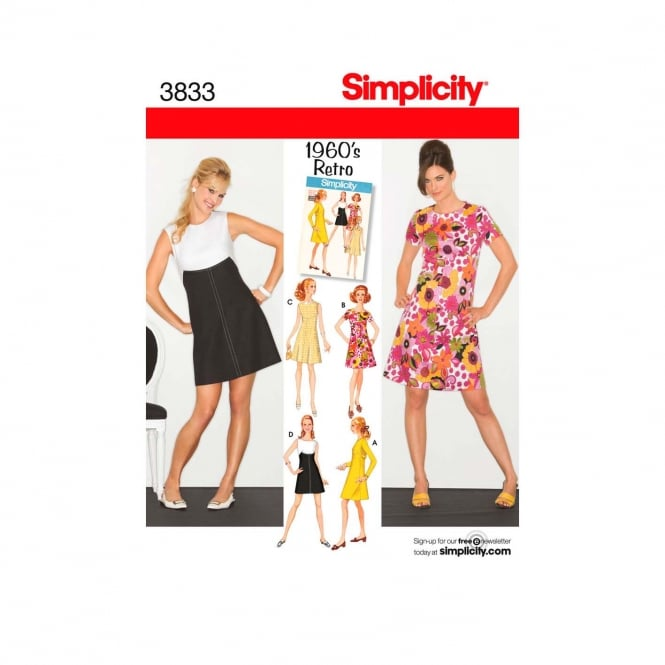 Simplicity Sewing Pattern 3833 R5 Size 14 - 22