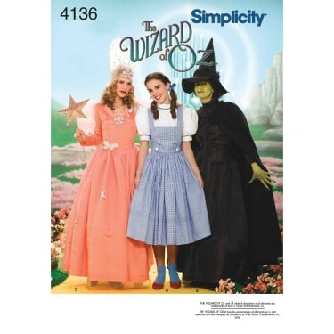 Simplicity Sewing Pattern 4136