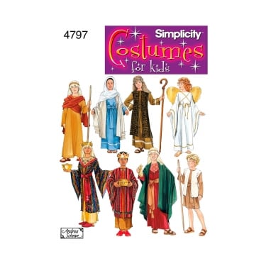 Simplicity Sewing Pattern 4797 A Size S - L