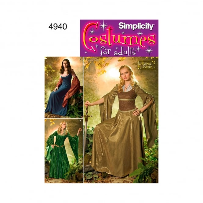 Simplicity Sewing Pattern 4940 N5 Size 10 - 18