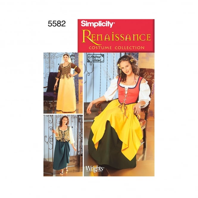 Simplicity Sewing Pattern 5582 DD Size 4 - 10
