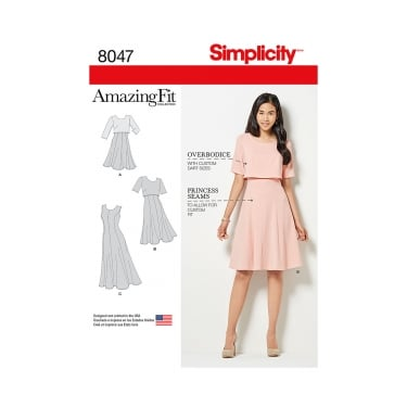 Simplicity Sewing Pattern 8047 R5 Size 14 - 22