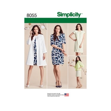 Simplicity Sewing Pattern 8055 Size 8 - 16