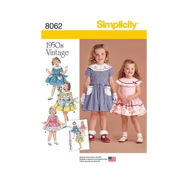 Simplicity Sewing Pattern 8062