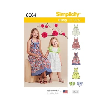 Simplicity Sewing Pattern 8064