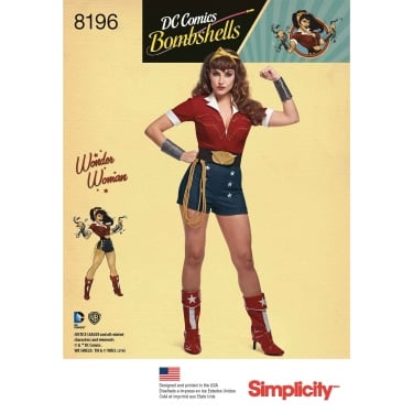Simplicity Sewing Pattern 8196