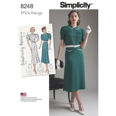 Simplicity Sewing Pattern 8248