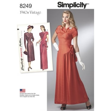 Simplicity Sewing Pattern 8249