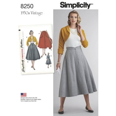 Simplicity Sewing Pattern 8250