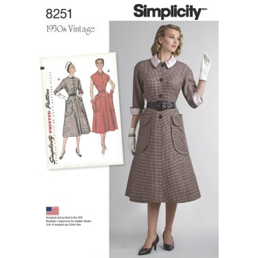 Simplicity Sewing Pattern 8251