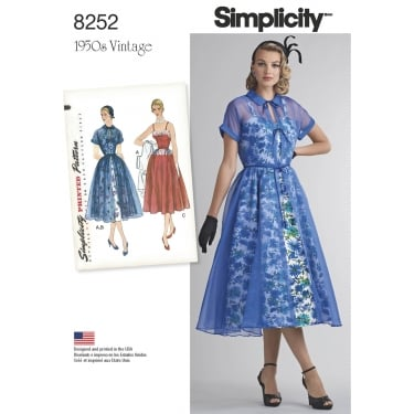 Simplicity Sewing Pattern 8252