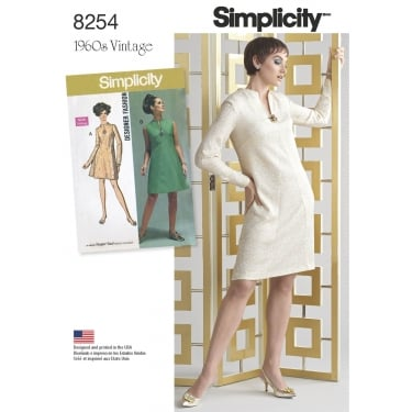 Simplicity Sewing Pattern 8254