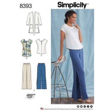 Simplicity Sewing Pattern 8393