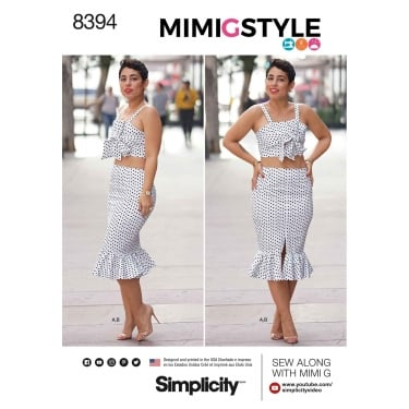 Simplicity Sewing Pattern 8394