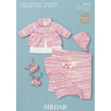 Sirdar Baby Crofter 4 Ply Leaflet 4616