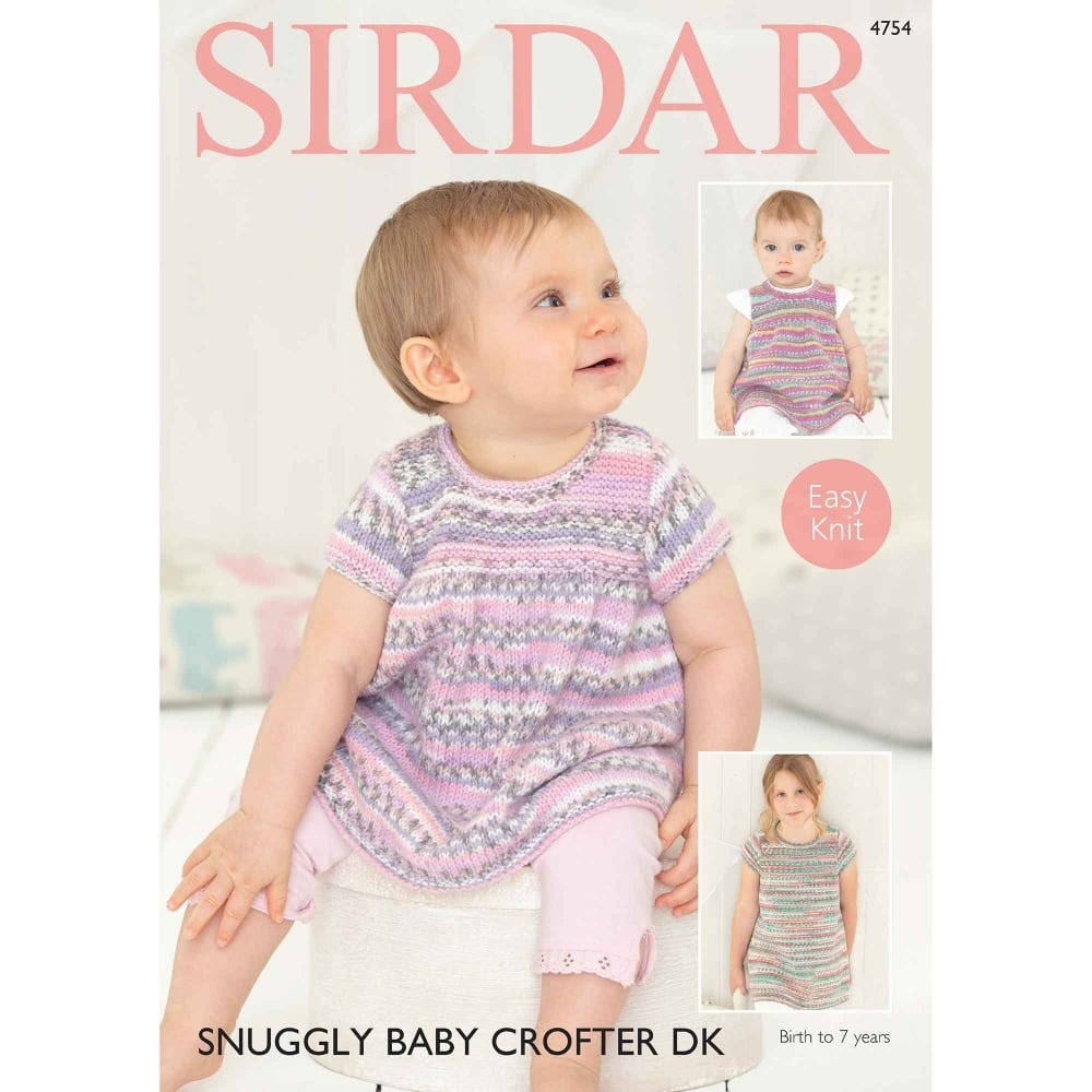 Sirdar Baby Crofter DK Knitting Pattern 4754 | Closs & Hamblin