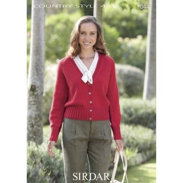 Sirdar Country Style 4 Ply Leaflet 7044