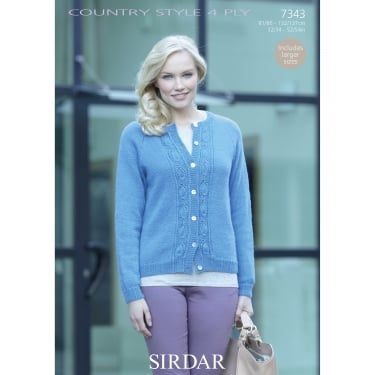 Sirdar Country Style 4 Ply Leaflet 7343