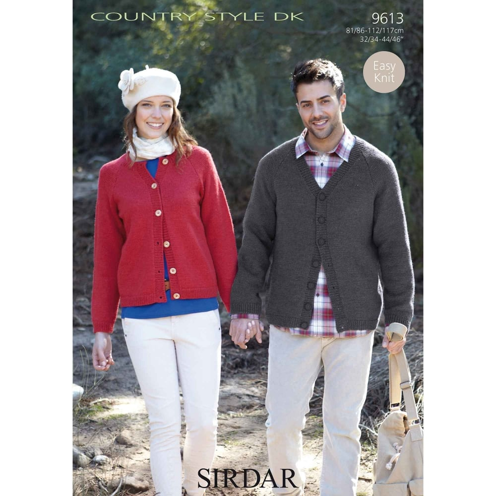 Sirdar Country Style DK Knitting Pattern 9613 | Closs & Hamblin