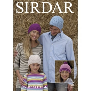 Sirdar Country Style DK Leaflet 7827