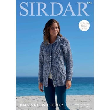 Sirdar Imagination Chunky Knitting Pattern 8056