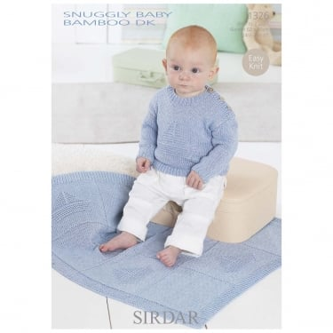 Sirdar Leaflet 1326 Snuggly Baby Bamboo DK