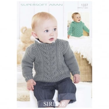 Sirdar Leaflet 1337 Supersoft Aran