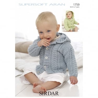 Sirdar Leaflet 1759 Supersoft Aran