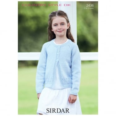 Sirdar Leaflet 2436 Country Style DK