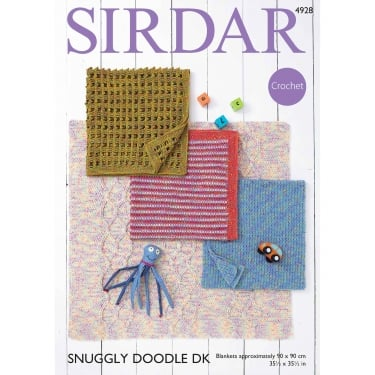 Sirdar Snuggly Doodle Crochet Pattern 4928