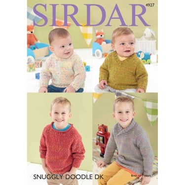 Sirdar Snuggly Doodle Knitting Pattern 4927
