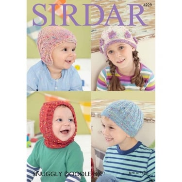 Sirdar Snuggly Doodle Knitting Pattern 4929