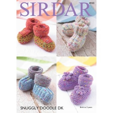 Sirdar Snuggly Doodle Knitting Pattern 4930