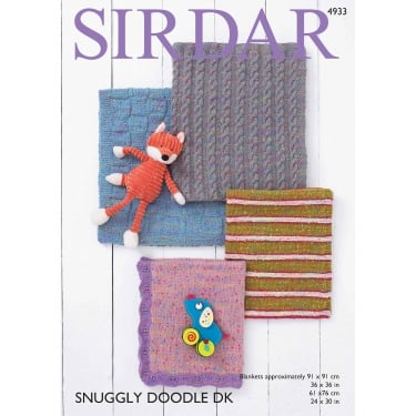 Sirdar Snuggly Doodle Knitting Pattern 4933