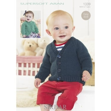 Sirdar Supersoft Aran Leaflet 1339