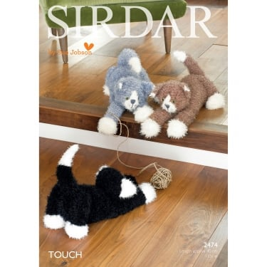 Sirdar Touch Cat Toy Leaflet 2474