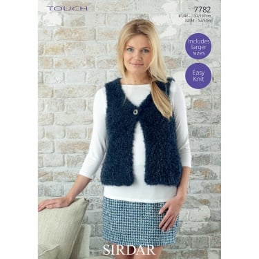 Sirdar Touch Knitting Pattern 7782