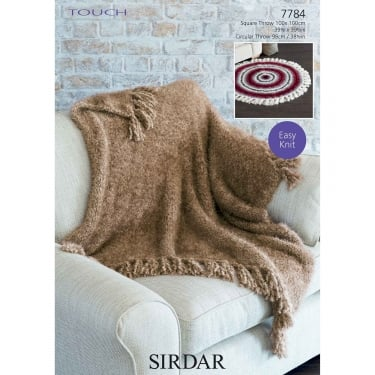 Sirdar Touch Knitting Pattern 7784