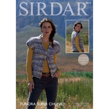 Sirdar Tundra Knitting Pattern 8073