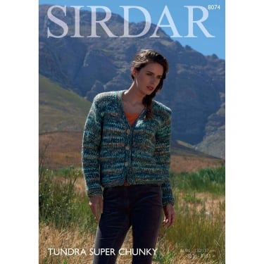Sirdar Tundra Knitting Pattern 8074