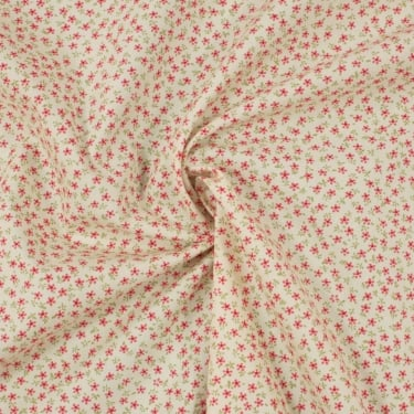 Small Pink Ditsy Cotton Poplin