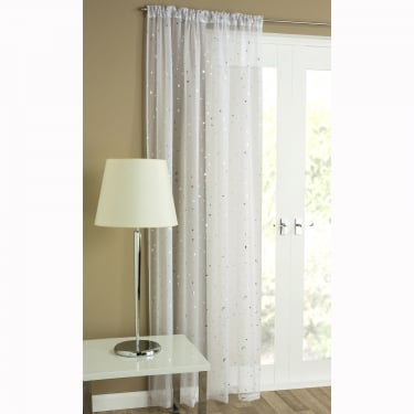 Starlight White Voile Panels