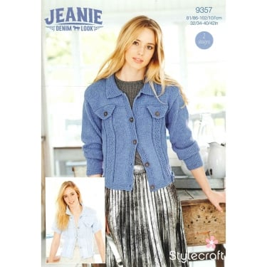 Stylecraft 9357 Jeanie Denim Look Leaflet